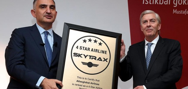 Atlasglobal'e Skytrax'tan tam not